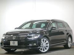 VW パサートヴァリアントTSI Rライン 新車保証 LEDヘッド エアロ19AW 革