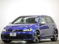 VW ゴルフR1オナ エアロ18AW 追従ACC 黒革 地デジナビ2年保証