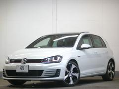 VW ゴルフGTIDCC&レザーP パノラマサンR 1オナ ナビTV 2年保証