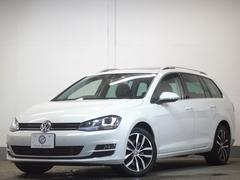 VW ゴルフヴァリアントTSIハイライン DCCレザーP パノラマサンR革 2年保証