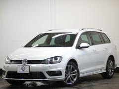 VW ゴルフヴァリアントRライン 1オーナ エアロ ナビTV スマートキー 2年保証