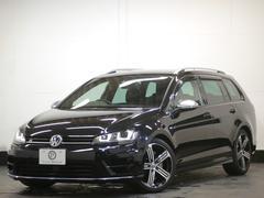 VW ゴルフRヴァリアント新車保証 黒革 追従ACCブラインドスポット ディスカバナビ