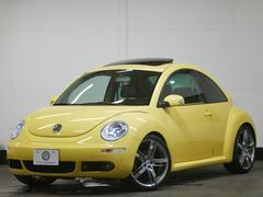 VW ニュービートルLZ 後期 左H サンルーフ 黒革 ナビ 19AW 2年保証