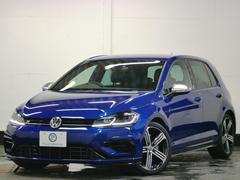 VW ゴルフR7.5型 新車保証1オナ 革 LEDヘッド デジタルメーター