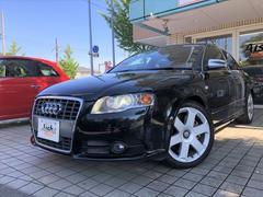 アウディ S4ベースグレード 純正ナビ・ETC・黒革・SR・HID