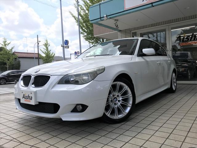 BMW 525iMスポーツパッケージSR・純正ナビ・ETC・18AW