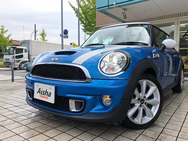 MINI クーパーS 1オーナー・サンルーフ・純17AW・HID