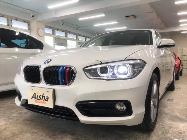 BMW 118i スポーツ 1オーナー・純正ナビ・ETC・LED