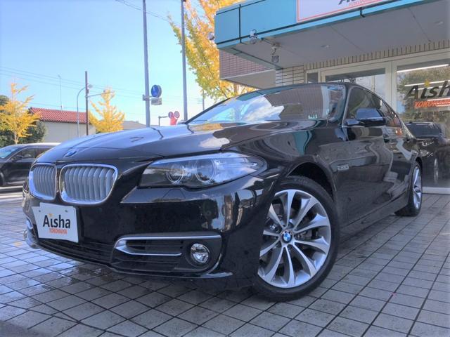 BMW 523d モダン黒革・インテリS・ナビ・TV・Bカメラ