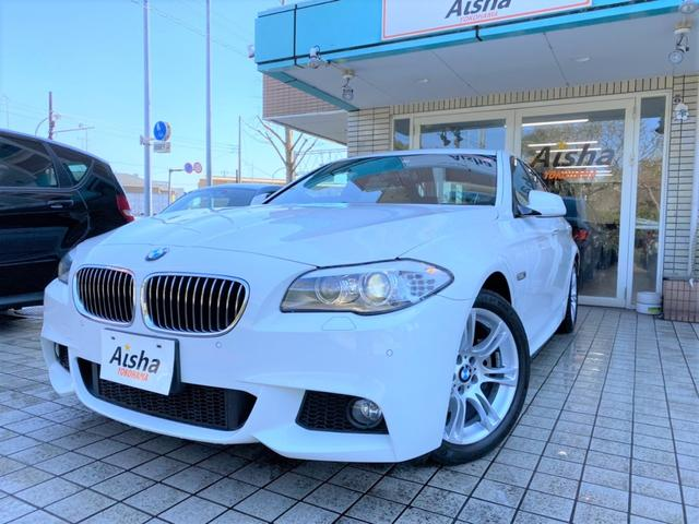 BMW 523i Mスポーツ・6気筒・サンルーフ・電動シート・地デジ