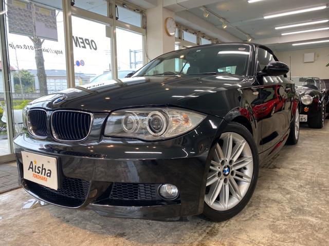 BMW 120iカブリMスポ黒革・HDD・地デジ・Bカメラ・HID