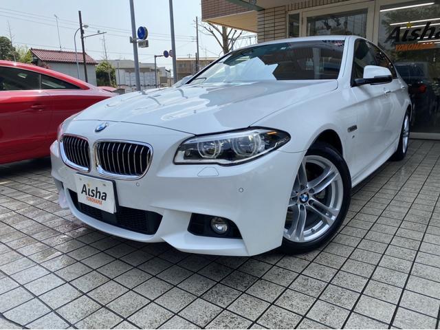 BMW 523d Mスポ ブラックレザー・1オーナー・LED・ACC