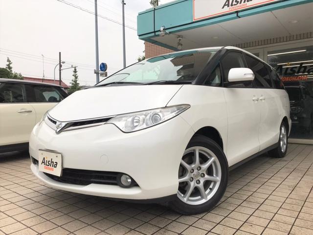 トヨタ エスティマ G HDDナビ・Bカメラ・HID・ETC