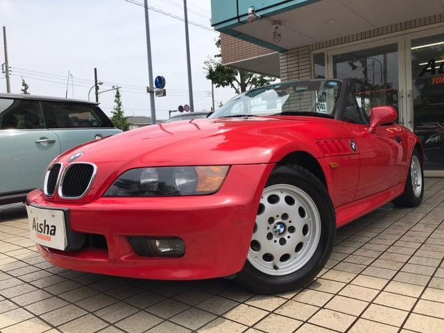 BMW Z3ロードスター ベースグレード 1オーナー・キーレス・ハーフレザー