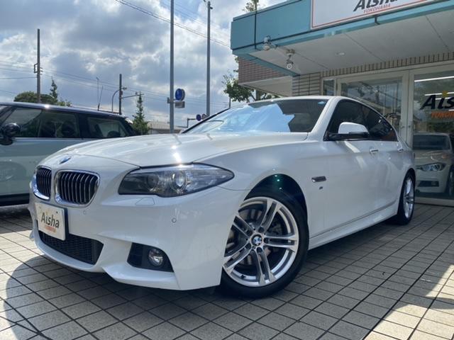BMW 5シリーズ 523i Mスポーツ ハイラインパッケージ ブラックレザー・LED・インテリS・ACC