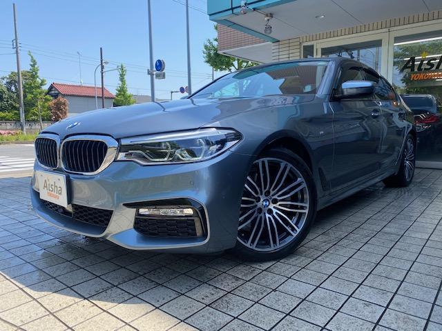 BMW 5シリーズ 523d Mスポーツ ハイラインパッケージ 1オーナー・オイスターレザー・イノベーションPKG・オートトランク・LED・F&Rシートヒーター・ACC