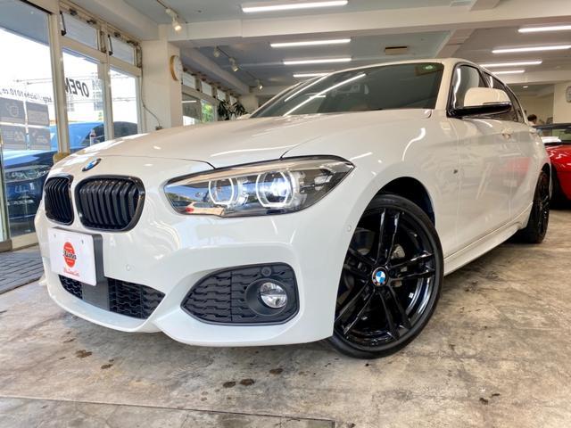 BMW 118d Mスポーツ エディションシャドー 後期モデル・タッチパネル・液晶メーター・ブラウンレザー・LED・ACC・ナビ・Bカメラ・18AW