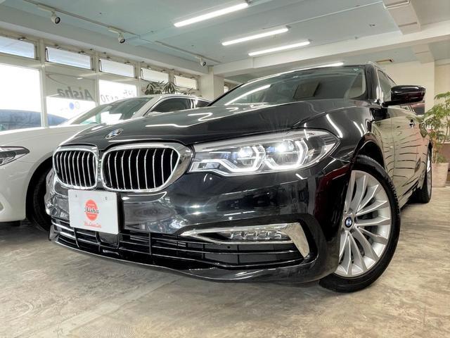 BMW 5シリーズ 523dツーリング ラグジュアリー 1オーナー・ベージュレザー・ACC・ヘッドアップディスプレイ・LED・Dアシスト・ナビ・TV・Bカメラ・ETC