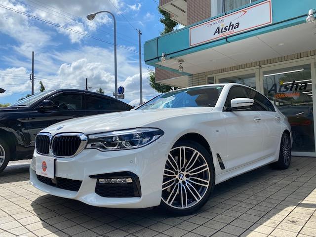 BMW 5シリーズ 523d Mスポーツ ハイラインパッケージ 1オーナー・黒レザー・F&Rシートヒーター・LED・Dアシストプラス・ナビ・TV・360カメラ・ETC・Aトランク