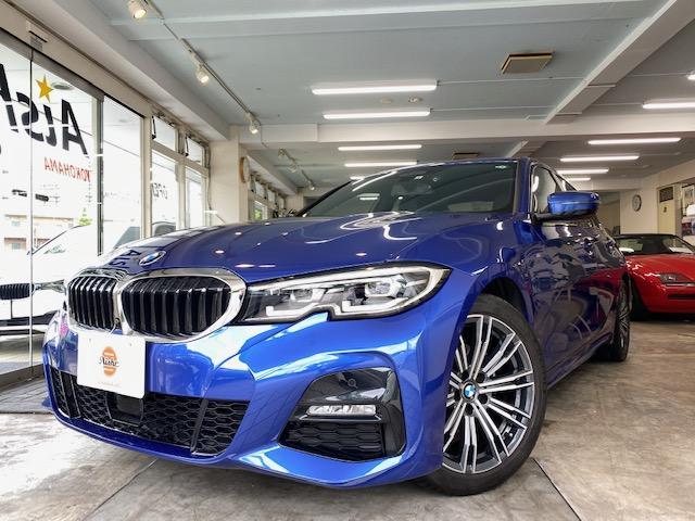BMW 3シリーズ 320d xDrive Mスポーツ LEDヘッドライト 18AW PDC コンフォートアクセス シートヒーター 純正ナビ iDriveナビ トップ リアビューカメラ 純正ETC アクティブ クルーズ コントロール 車線逸脱