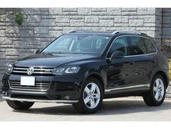 VW トゥアレグハイブリッド ルーフレールPKG スキッドプレート ACC