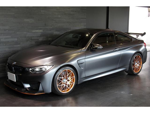 BMW M4 M4 GTS 限定車 セラミックブレーキ OPボディ色フローズンダークグレー ワンオーナー