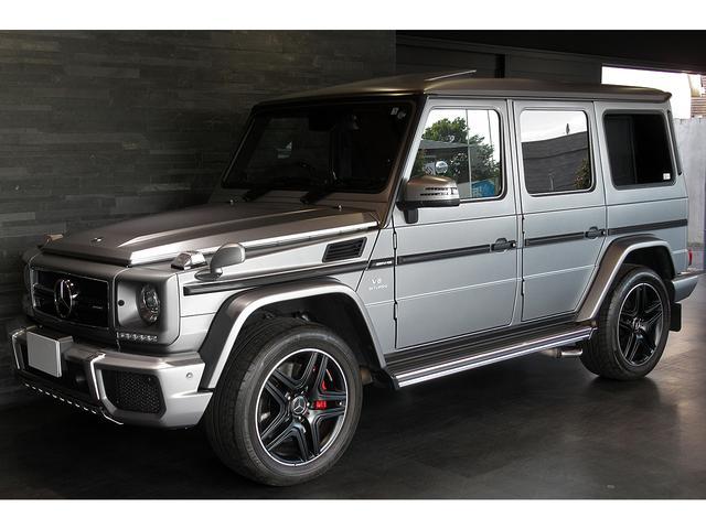 メルセデスAMG G63 デジーノエクスクルーシブPKG 希少ボディカラーdesignoプラチナムマット ブラック20AW 右ハンドル 最終モデル 1オーナー