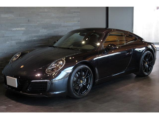ポルシェ 911 911カレラ 7速MT 左ハンドル スポーツクロノ OP20インチカレラSホイール シートベンチレーション OPカラージェットブラック