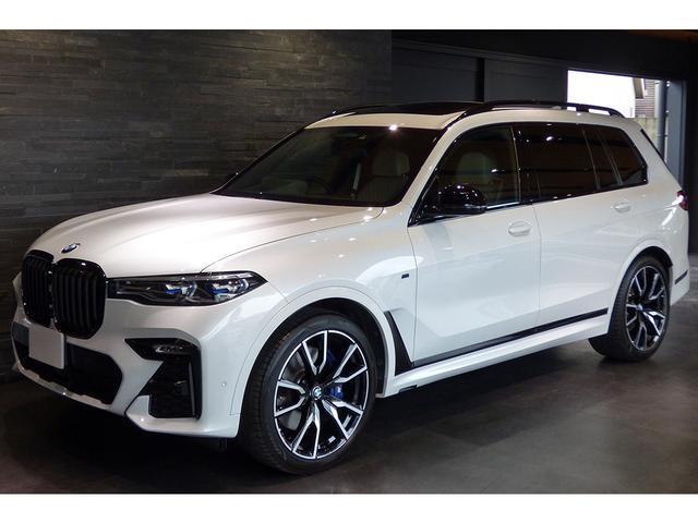BMW xDrive 35d Mスポーツ スカイラウンジパノラマサンルーフ 22インチAW リアエンターテイメントシステム 5ゾーンエアコン アルカンタラルーフ 6人乗り 新車保証 ワンオーナー