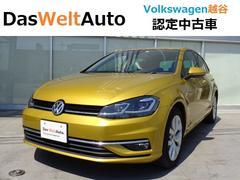 VW ゴルフ7.5 TSIハイライン 弊社試乗車 ナビ Rカメラ ACC