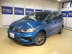 VW ゴルフトゥーランTSI Rライン ナビ17AWリアエアコン新車保証継承