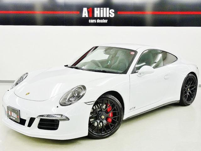 ポルシェ 911カレラ4GTS右ハンドル スポーツエキゾースト・クロノ