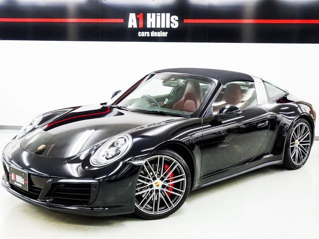911タルガ4S 右ハンドル スポーツクロノパッケージ オールレザーインテリア シートヒータ LEDヘッドライト 911ターボホイール マルチファンクション付きGTスポーツステアリング パドルシフト エントリードライブ