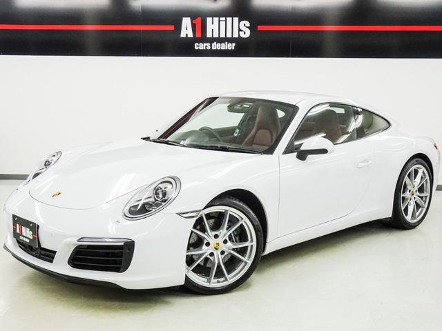 ポルシェ 911 911カレラ 右ハンドル スポーツクロノ スポーツエキゾースト カレラS20インチAW オールレザーインテリア アダクティブシート アダクティブクルーズコントロール エントリードライブ 電動格納ミラー ワンオーナー