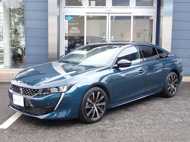 プジョー GTライン フルパッケージ デモアップ車 新車保証継承