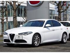 アルファロメオ ジュリアスーパー新車保証継承 自社管理デモカー レザーシート ETC