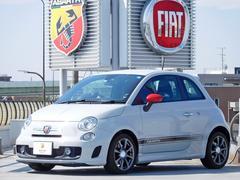 アバルト アバルト500ベースグレードAT 認定中古車 2DINナビ ETC 禁煙車