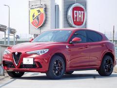 アルファロメオ ステルヴィオクアドリフォリオ 新車保証継承 三層コートペイント ETC