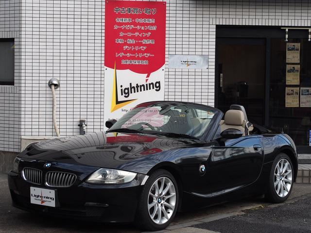 BMW ロードスター3.0si ベージュレザー 電動オープン レカロ