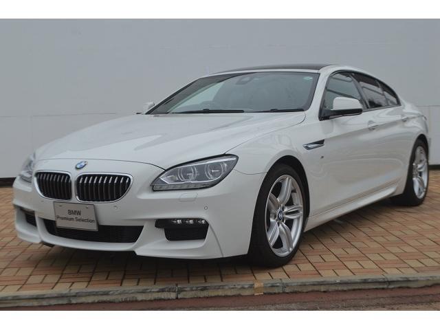 BMW 640iグランクーペ 認定中古車 SR 純正ナビ ETC