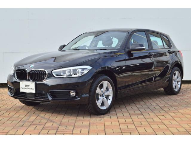 BMW 118d スポーツ認定中古車 登録済未使用車 ACC