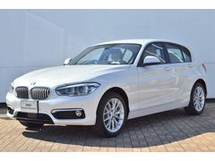 BMW認定中古車 118d ファッショニスタ ベージュレザー