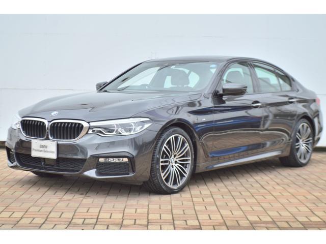 BMW 5シリーズ 523d Mスポーツ 正規認定中古車・ステアリングアシスト・追従型クルーズコントロール・被害軽減ブレーキ・パーキングアシスト・リモートパーキング・ディスプレイキー・キーレスエントリー・サンルーフ・全周カメラ&センサー