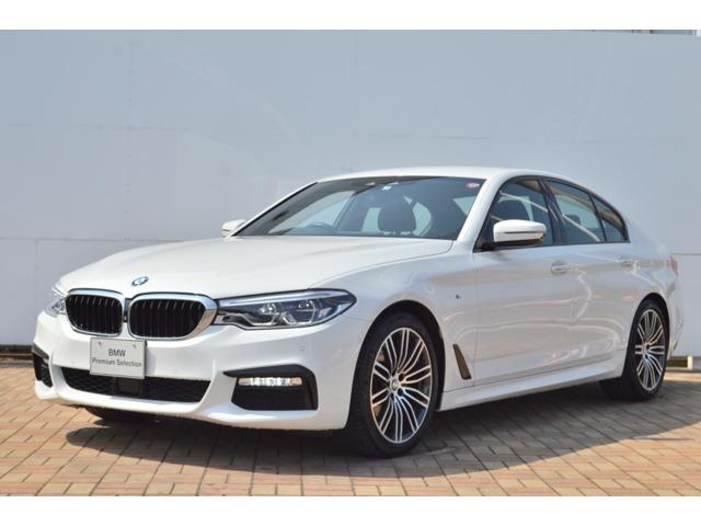 BMW 5シリーズ 523d Mスポーツ 正規認定中古車・ソフトクローズドア・電動トランク・ハイビームアシスト・HIFIスピーカー・電動シート・アクティブクルーズコントロール・ヘッドアップディスプレイ・被害軽減ブレーキ・SOSコール