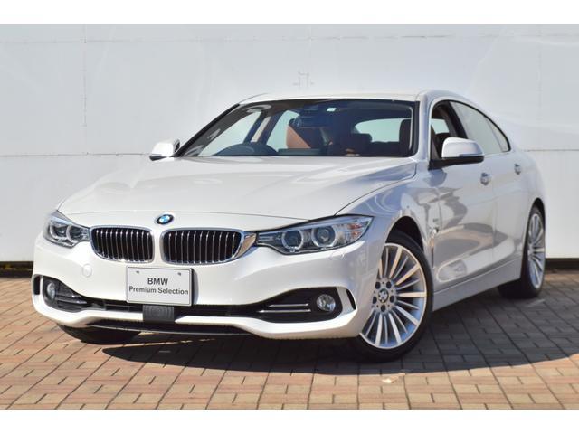 BMW 4シリーズ 420iグランクーペ ラグジュアリー 正規認定中古車 被害軽減ブレーキ 車線逸脱警告 ワンオーナー コンフォートアクセス マルチファンクション サドルブラウンレザー 電動シート シートヒーター バックモニター リアソナーセンサー ETC