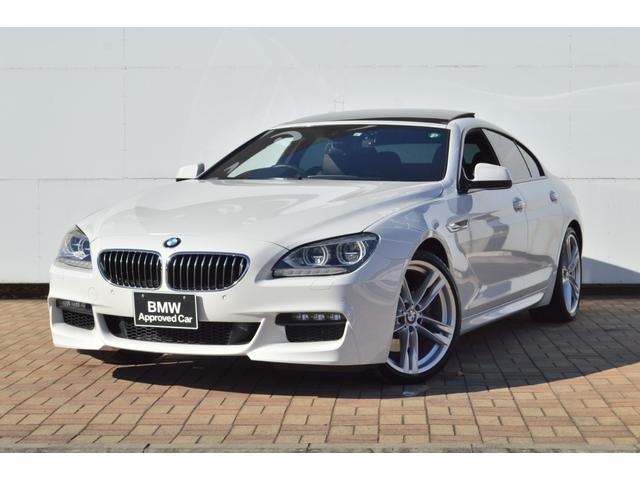 BMW 640iグランクーペ Mスポーツパッケージ 正規認定中古車 ドラレコ LED シートヒーター コンフォートアクセス サンルーフ リアローラーブラインド 前後ソナーセンサー 地デジ バックモニター アンビエントライト ワンオーナー
