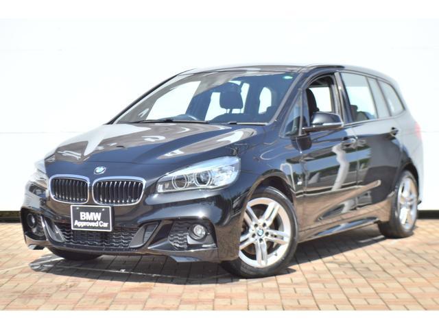BMW 218dグランツアラー Mスポーツ 正規認定中古車 被害軽減ブレーキ 車線逸脱警告 電動トランク キーレスエントリー 純正HDDnナビゲーション リアソナーセンサー バックモニター アイドリングストップ SOSコール AUX/USB