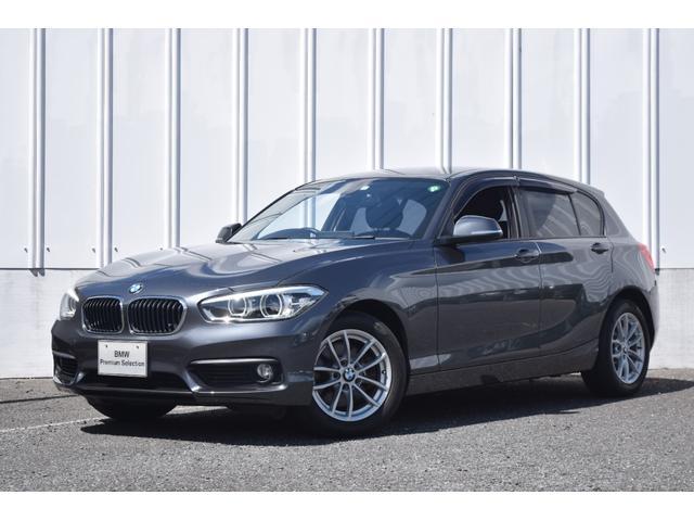 BMW 1シリーズ 118i 正規認定中古車 LED 純正HDDナビゲーション ルームミラー一体型ETC マルチファンクション スピードリミット バックモニター リアソナーセンサー アイドリングストップ