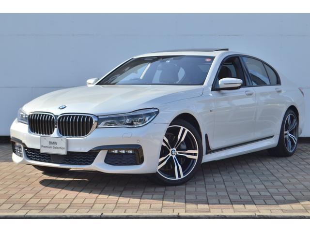 BMW 740i Mスポーツ 正規認定中古車 ワンオーナー 電動ガラスサンルーフ タッチパネル式HDDナビ 全席シートヒーター 電動シート ACC 前後ソナーセンサー 全方位カメラ HarmanKardonスピーカー
