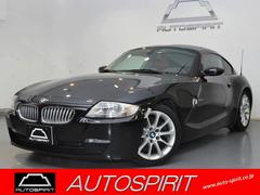 BMW Z4クーペ3.0si 左ハンドル 赤レザーシート